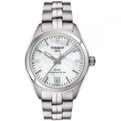 Женские часы Tissot T101.207.11.116.00 PR 100 Powermatic 80 Lady