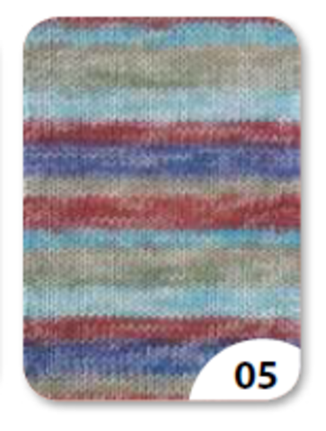 Купить пряжу для носков Gruendl Hot Socks Ledro 05
