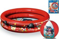 Smoby Набор «Пират» Disney надувной бассейн+пляжный мяч 40 см. (67279)