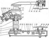 Вал редуктора привода щетки (L=1423мм)