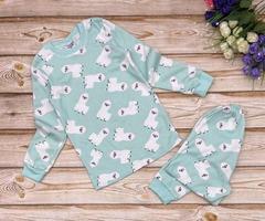 23D-3 пижама детская, ментоловая