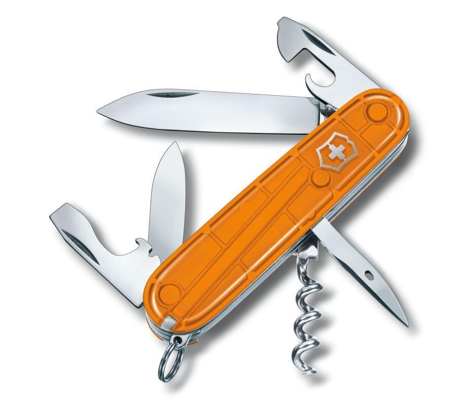 Набор Victorinox Color Twins оранжевый (нож для овощей+ Spartan), лезвие 8 см, 12 функ