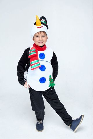 Костюм Снеговика детский 1