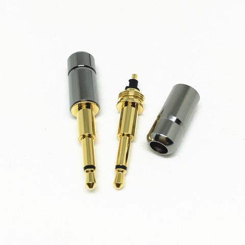Штекер 3.5мм для ремонта наушников (2-контактный)