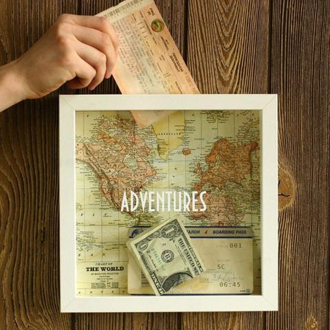 Рамка-копилка для путешественников 'Adventure'