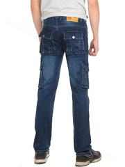 2010 джинсы мужские, темно-синие