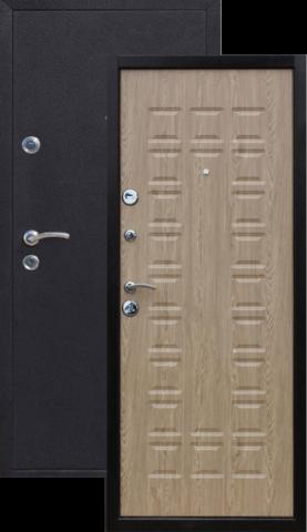 Дверь входная Йошкар Ель карпатская , 2 замка, 1,2 мм  металл, (медь антик+ель карпатская)