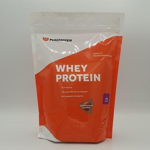 Сывороточный протеин вкус Шоколадный пломбир PUREPROTEIN, 420 гр