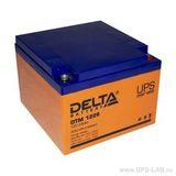 Аккумулятор Delta DTM 1226 ( 12V 26Ah / 12В 26Ач ) - фотография