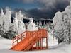Зимняя детская горка Гренландия