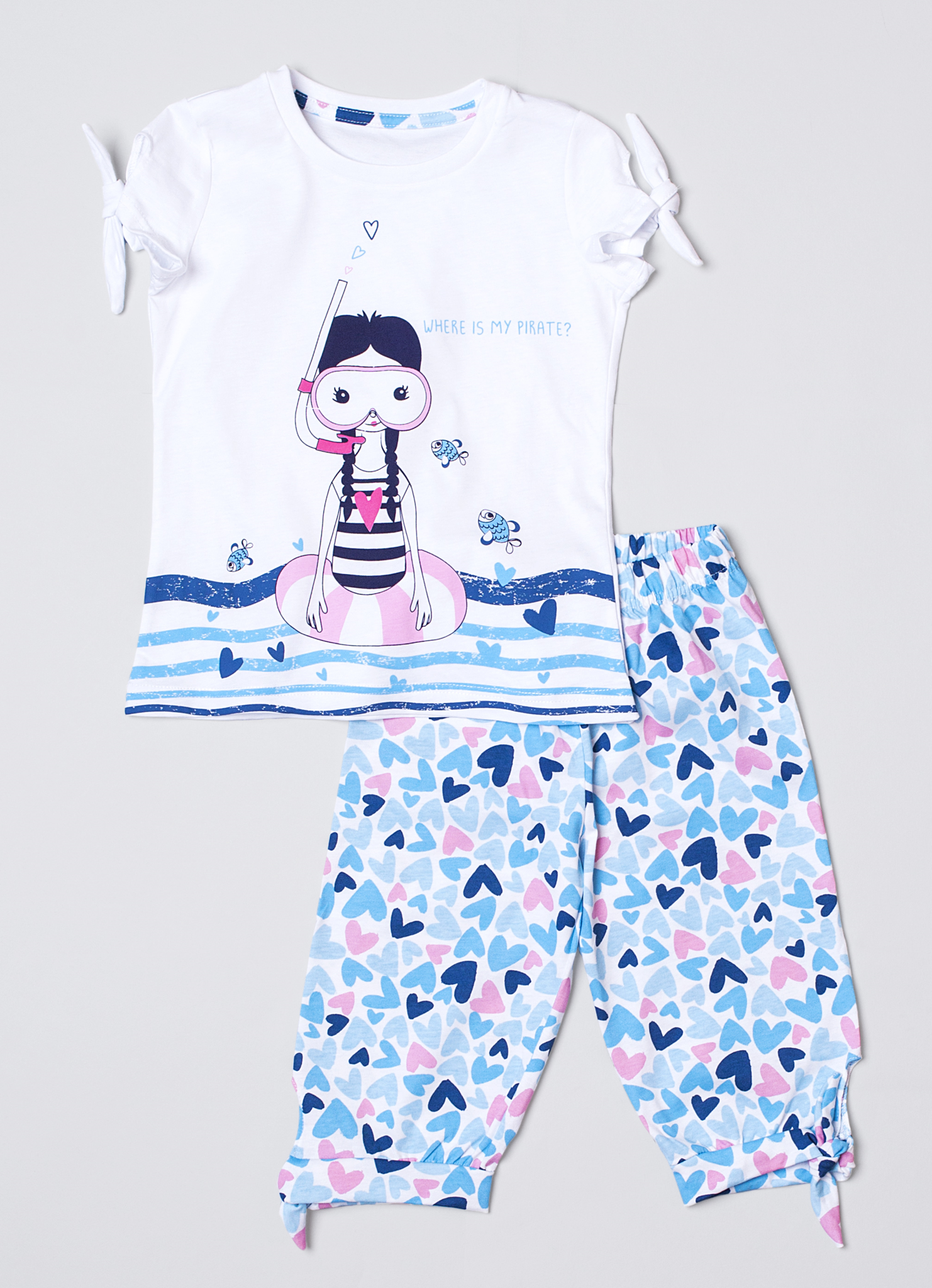 Детская женская пижама E16K-24P101