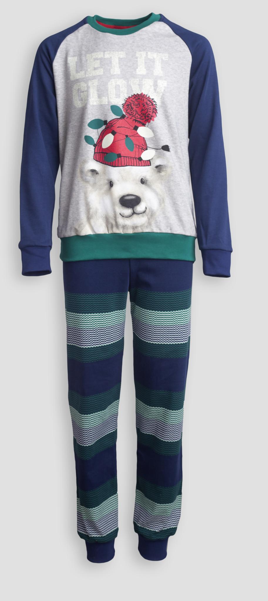 Детская мужская пижама E17K-83P101
