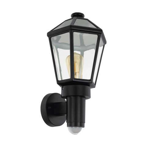 Уличный светильник с датчиком движения и с сенсором DAY & NIGHT Eglo MONSELICE 97257
