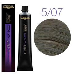 L'Oreal Professionnel Dia light 5.07 (натуральный матовый светлый шатен) - Краска для волос