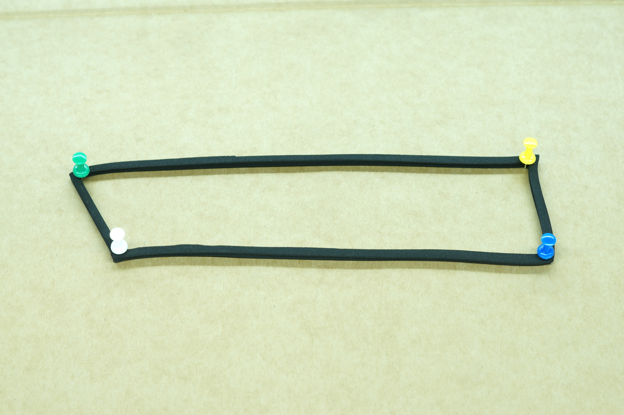 Прокладка стекла подфарника Газ 21 3 серии