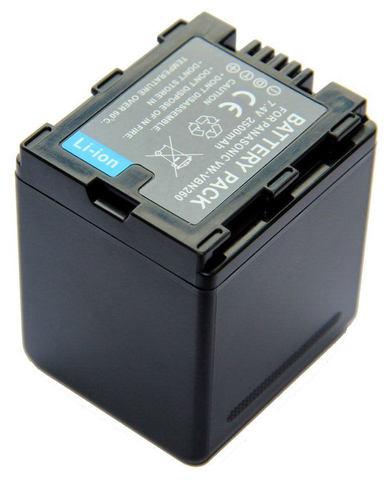 Аккумулятор VW-VBN260 батарея для камер Panasonic 2500 mah