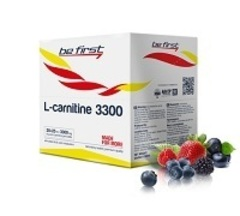 Be First L-carnitine 3300 (25мл/малина)