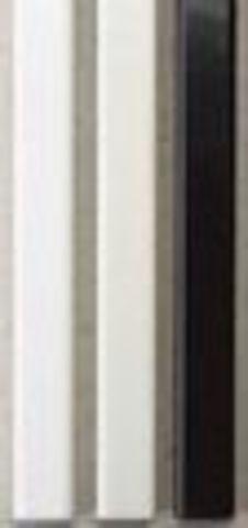 Металлические каналы O.SIMPLE CHANNEL каналы предназначены для использования с обычными обложками (пластик, картон) или без обложек А4 длина 297 мм - 13 мм (до 120 листов). Упаковка 25 шт. Цвет: черный, белый. серый.