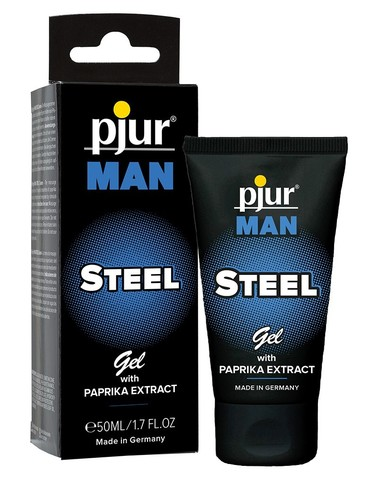 Pjur an Steel cream 50 мл. Крем для возбуждения.