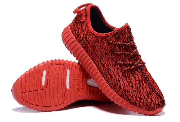 Adidas Yeezy Boost 350 (Red) (079)