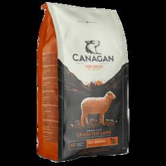 Корм для собак всех пород, CANAGAN GF Grass Fed Lamb, с ягненком