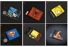 DC Comics Marvel Wallet Set 2