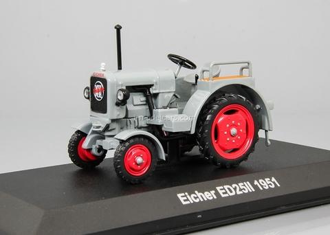 Tractor Eicher ED 25/II 1951 1:43 Hachette #78