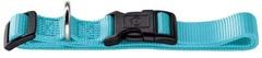 Ошейник для собак, Hunter Smart Ecco, XS (22-34 см) нейлон бирюзовый