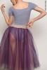 Комплект: Купальник Футболка + юбка-шопенка colour