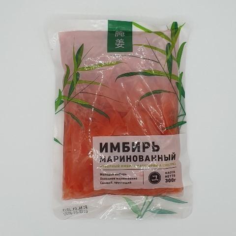Имбирь маринованный розовый OPTOFOOD, 200 гр