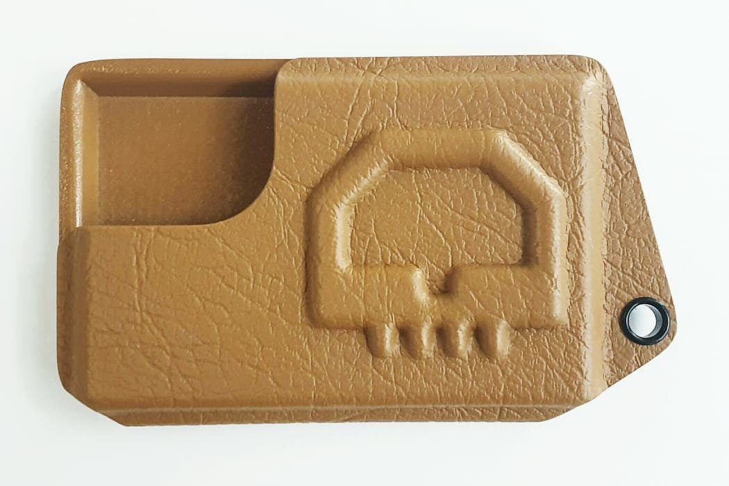 Leather type kydex wallet