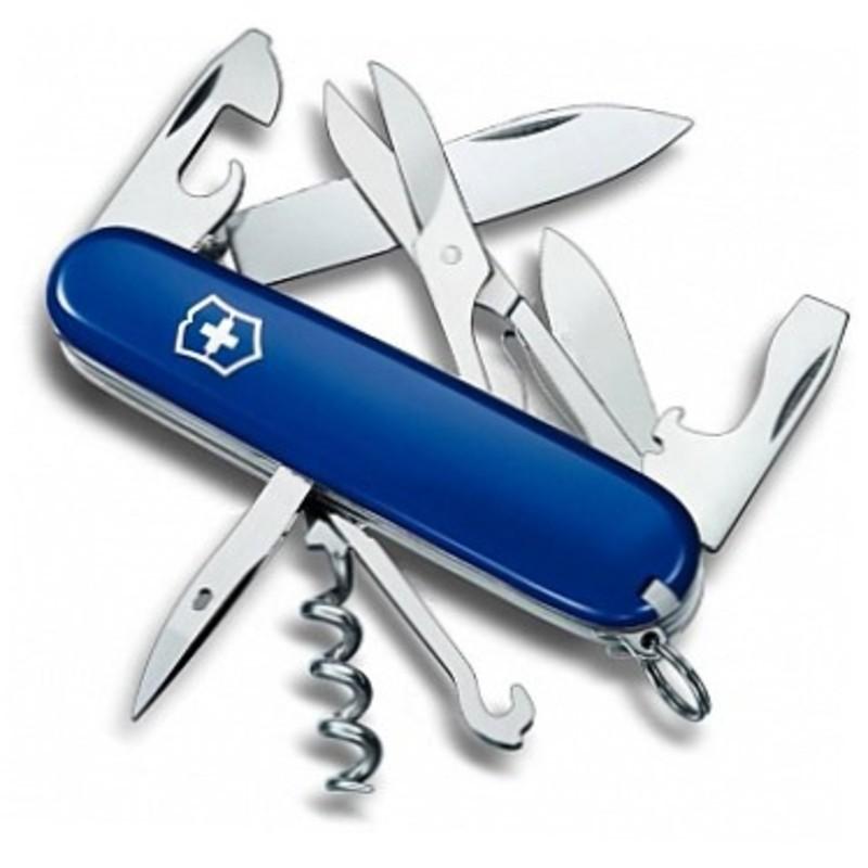 Складной нож Victorinox Climber (1.3703.2) 91 мм., 14 функций, синий - Wenger-Victorinox.Ru
