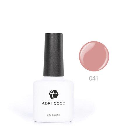 Цветной гель-лак ADRICOCO №041 розовая карамель (8 мл.)