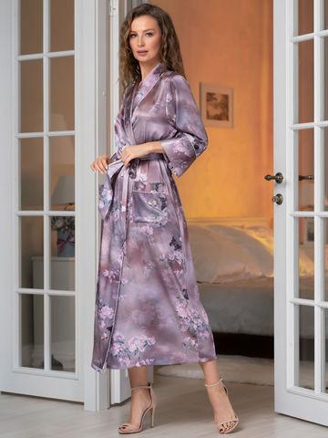 Длинный женский халат MIA-Amore АВРОРА 3659