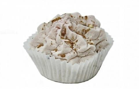 Пена твердая Лакомка для ванн с маслом ванили и какао, в кор. 80±5гр. TMChocoLatte