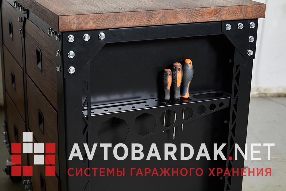 Инструментальная тумба подкатная с 6 ящиками LoftGarage