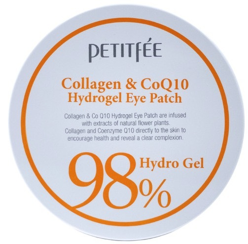 Petitfee 98% Collagen & CoQ10 Hydro Gel Eye Patch патчи для глаз