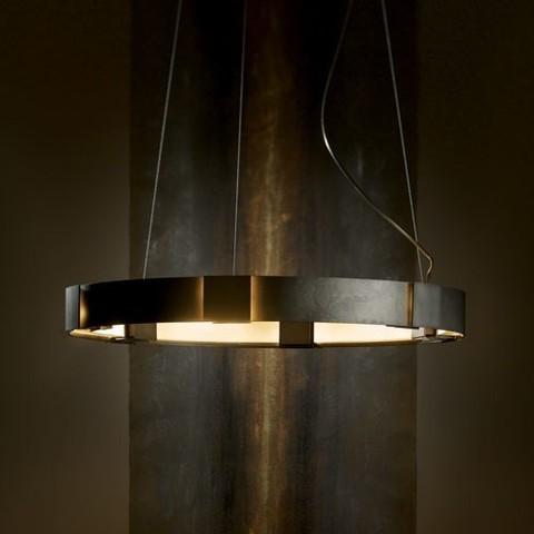 replica light  Aura Pendant, Dark Smoke -Open Box from Hubbardton Forge