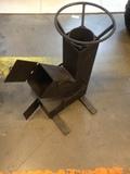 Печь ракетного типа(сталь 3 мм)