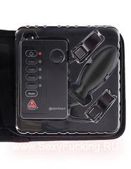Набор из анальной пробки и зажимов для сосков Shock Therapy Kinky Couples Travel Kit
