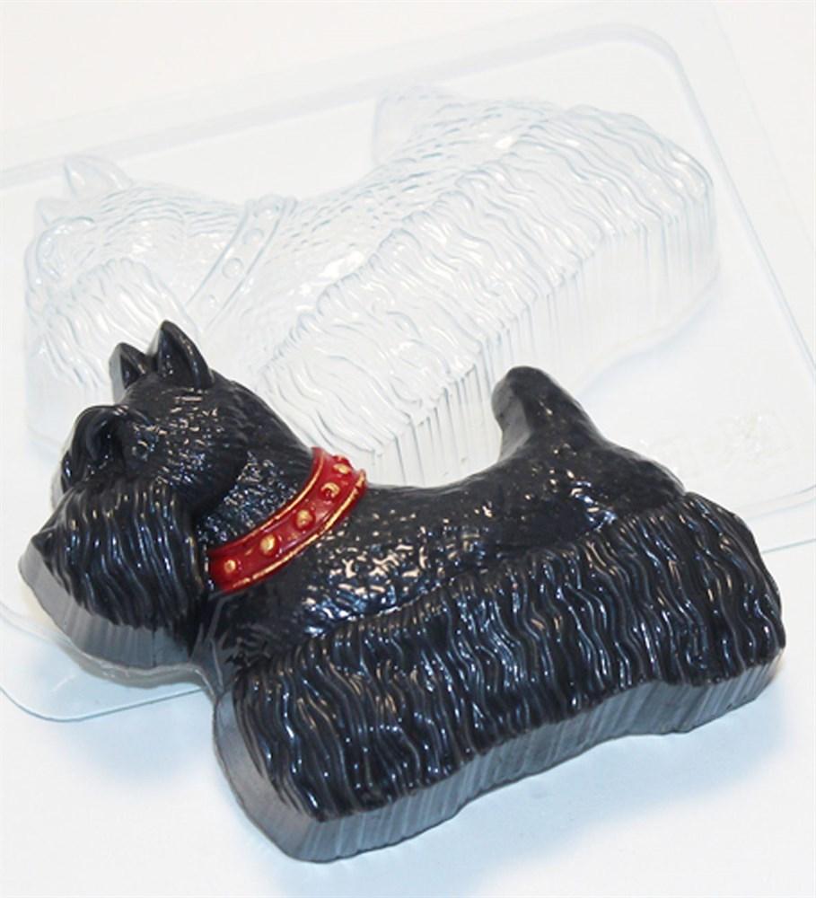Скотч-терьер, форма пластиковая