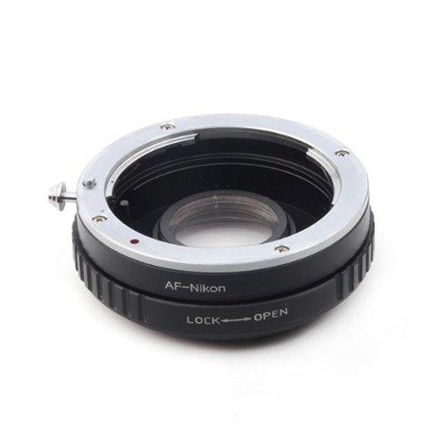 Переходник Sony A на Nikon F с линзой