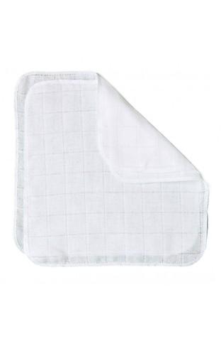 Носовые платочки муслиновые (Белый) 3 шт.
