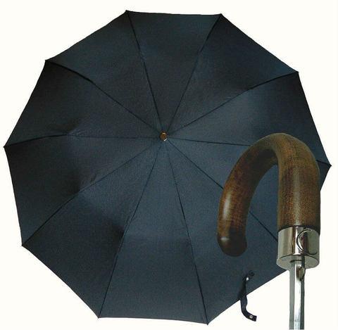 Зонт складной Guy de Jean 7036-rib Poignee Bois