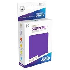 Ultimate Guard - Фиолетовые матовые протекторы 80 штук в коробочке