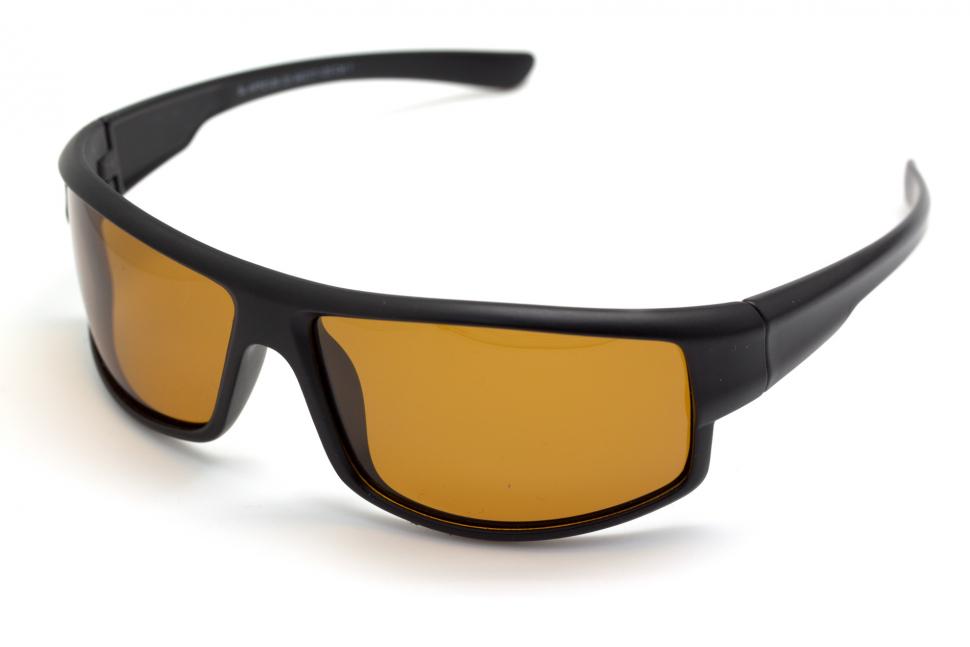 Очки поляризационные для рыбаков туристов водителей 2129C3 желтые 50%