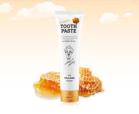 Лечебно-профилактическая зубная паста с прополисом, 200г / Village 11 Factory Propolis Toothpaste