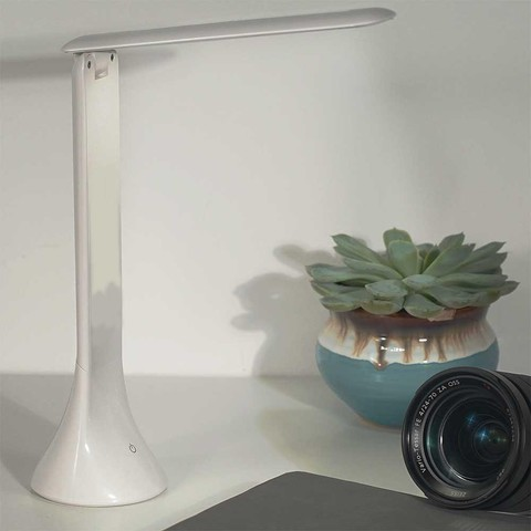 Настольная складная лампа Led Table Lamp белая