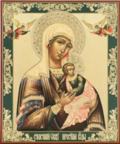 Икона Божией Матери Страстная 01