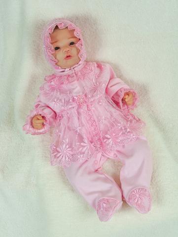 Велюровый набор Мари нежно-розовый
